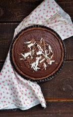cokoladni-tart-s-grozdjem