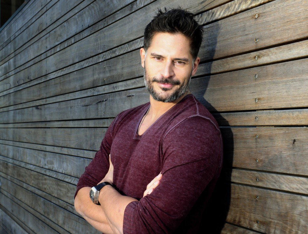 SYDNEY, AUSTRALIA - JULY 24: (EUROPE AND AUSTRALASIA OUT) American actor Joe Manganiello poses during a photo shoot on July 24, 2013 in Sydney, Australia. (Photo by John Appleyard/Newspix/Getty Images)