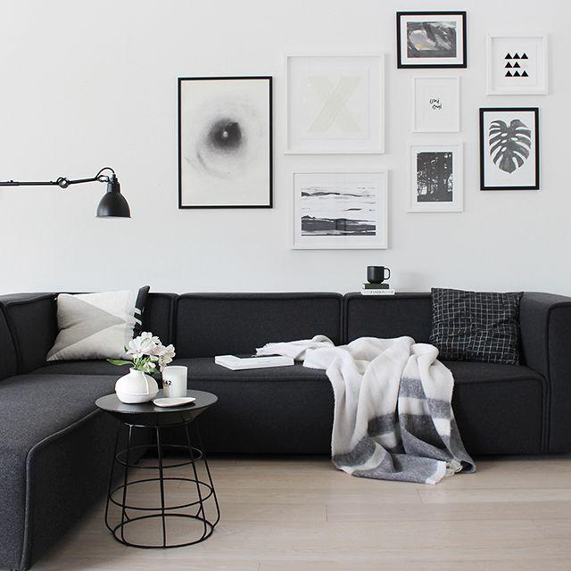 crna i bijela za harmoniju doma azra magazin. Black Bedroom Furniture Sets. Home Design Ideas