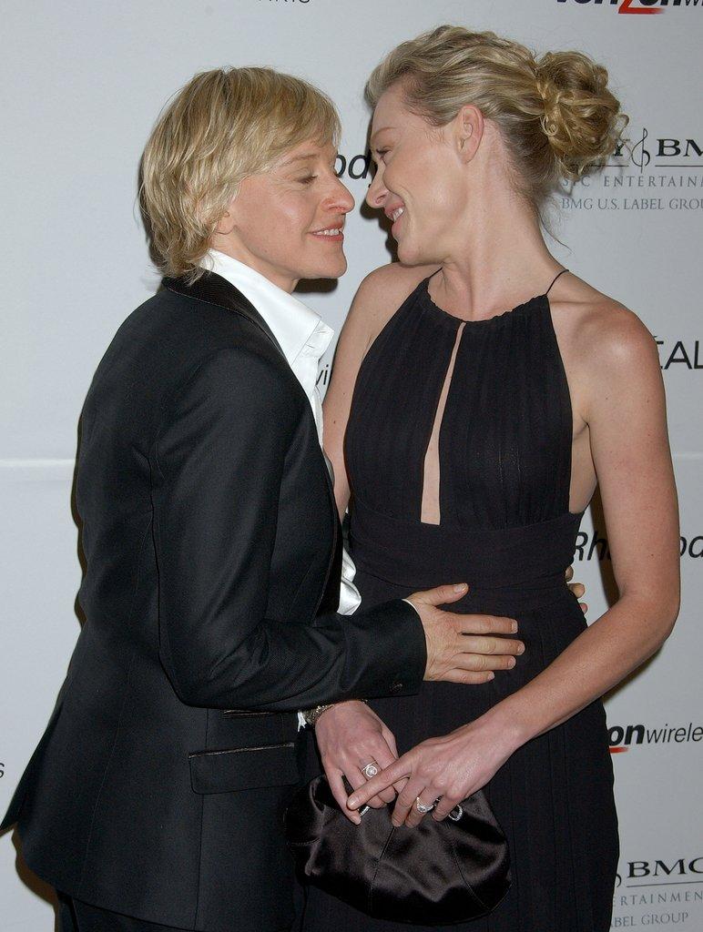 Ellen i Portia De Rossi