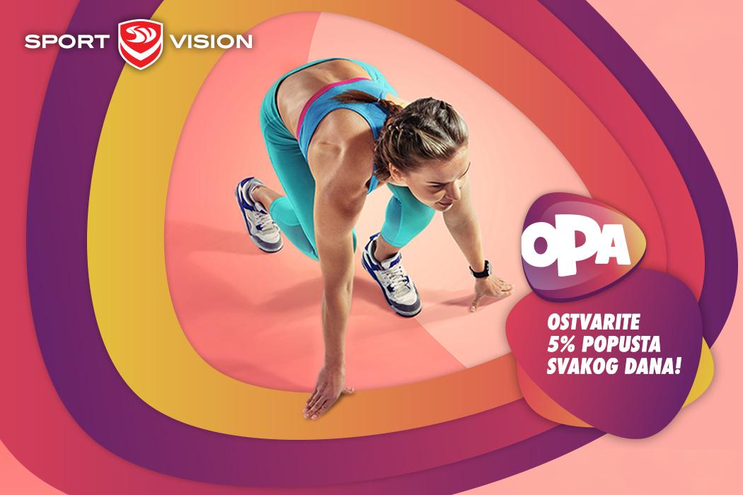 Ljubitelji sportskih brendova sada mogu uživati u još bržem i sigurnijem načinu kupovine u Sport Vision trgovinama